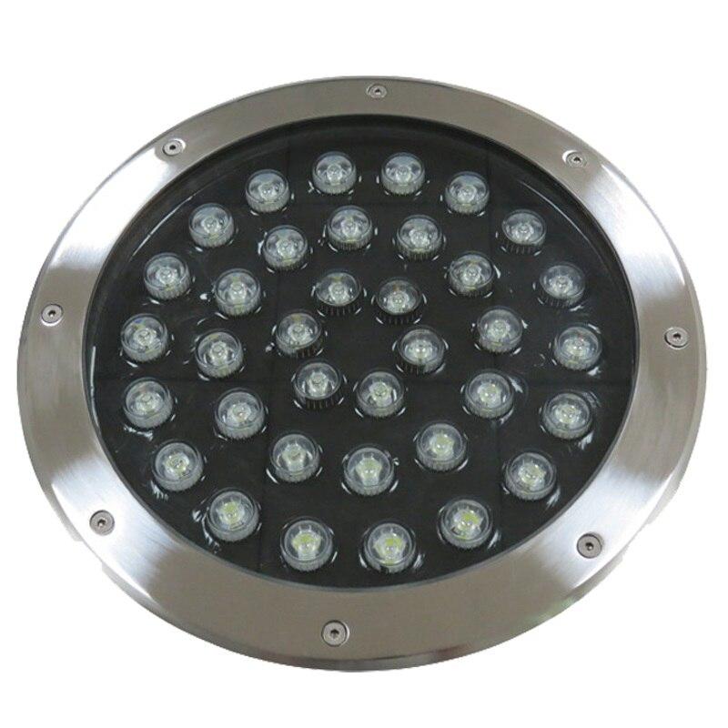 LED lumière souterraine 36 W enterré encastré sol chemin cour chemin paysage lampe éclairage extérieur