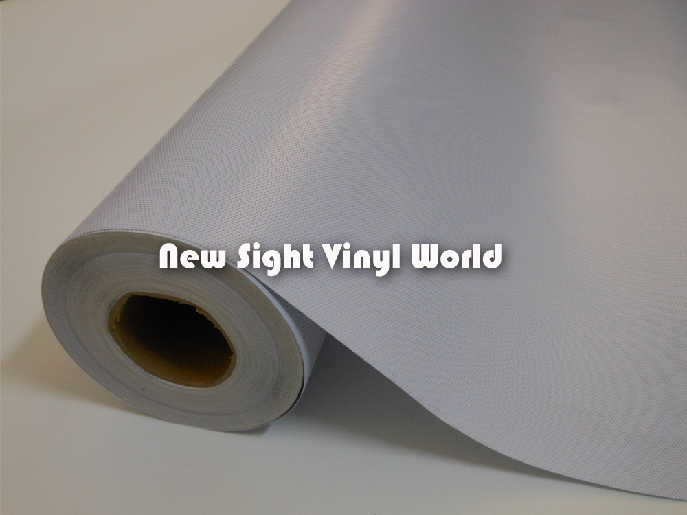 SPI видения Графика Белый фар оттенок Белые перфорированные сетки Плёнки Fly глаз оттенок 1.07x50 m/roll