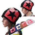 2014 free shipping New Women Men Slouch Winter Knit Hip-hop Cap Beanie Hat Ski Crochet Colors Pick Star design