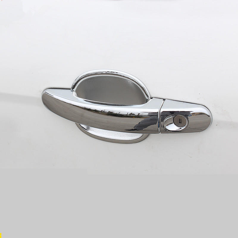 Chrome ABS Exterior Door Handle Cover For Ford Focus Kuga 2012 13 14 15 16 17 2018 ACA067