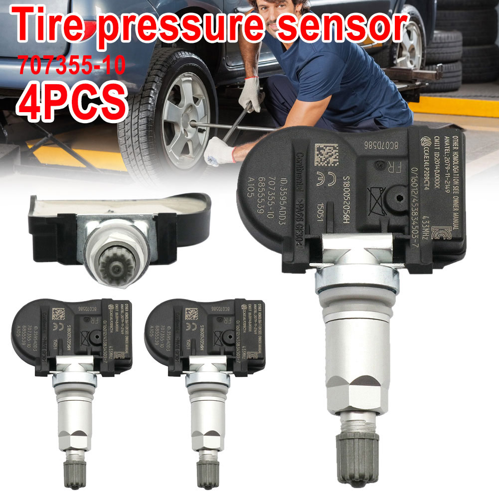 2019 4Pcs TPMS Tire Pressure Monitor 707355 10 36106856209 36106881890 for BMW CSL88