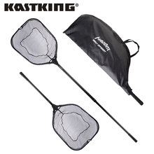 KastKing 115cm 193cm Extendable Folding Fishing Net Aluminum Handle With Rubber Grip Super Strong Easy to Carry Foldable Net
