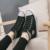 Moda Altura Crescente Das Mulheres Das Sapatas de Lona 6 cm Cunhas Respirável Lace Up Primavera Verão Calçados Casuais Mulher chaussure femme