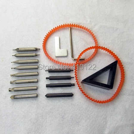 Pełny zestaw klucz frezy frez do cięcie kluczy maszyna ślusarz narzędzia bity wiertła stalowe