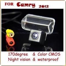 Alambre del coche inalámbrica cámara de visión trasera del monitor DVD auto GPS asistente de estacionamiento para Toyota camry 2012 2013/verso/2014 Yaris L