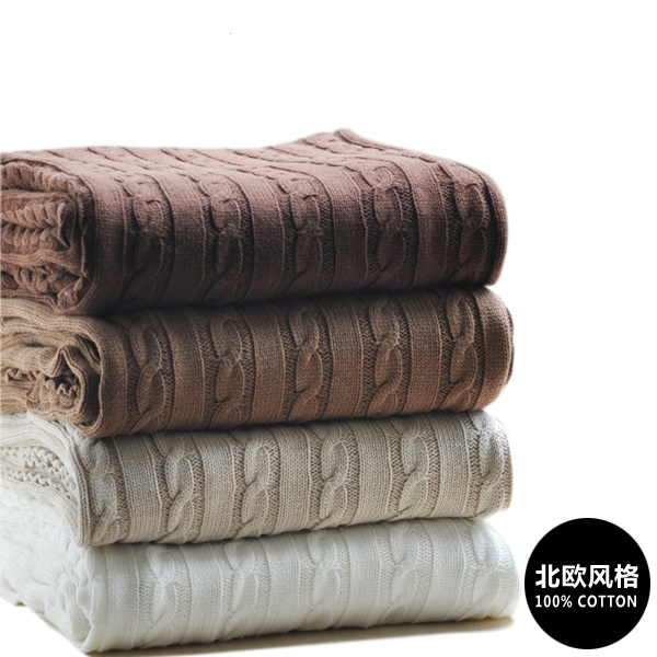 INS explosion high quality 100% cotton white, beige, brown, gray, red, green knit blanket for sofa/bed/home blanket for spring 1pc white or green polishing paste wax polishing compounds for high lustre finishing on steels hard metals durale quality