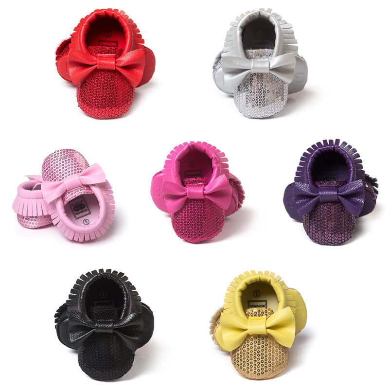 Toddler-Baby-Tassel-Bowknot-Beading-PU-Leather-Soft-Bottom-Shoes-First-Walkers-0-18M-LH6s-1