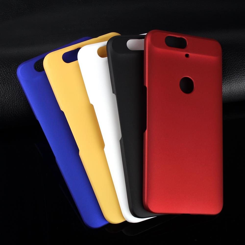 premium selection 46dd2 5ad69 Rubber For Google Nexus 6P Ultra Thin Luxury Frosted Matte Plastic Hard  Case Cover For Huawei Nexus 6P Cases Shell