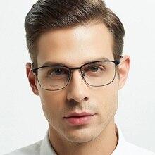 ELECCION Titanium Alloy Eye Glasses Frames for Men Prescription Eyeglass 2019 Myopia Optical Frame male Italy Screwles Eyewewar