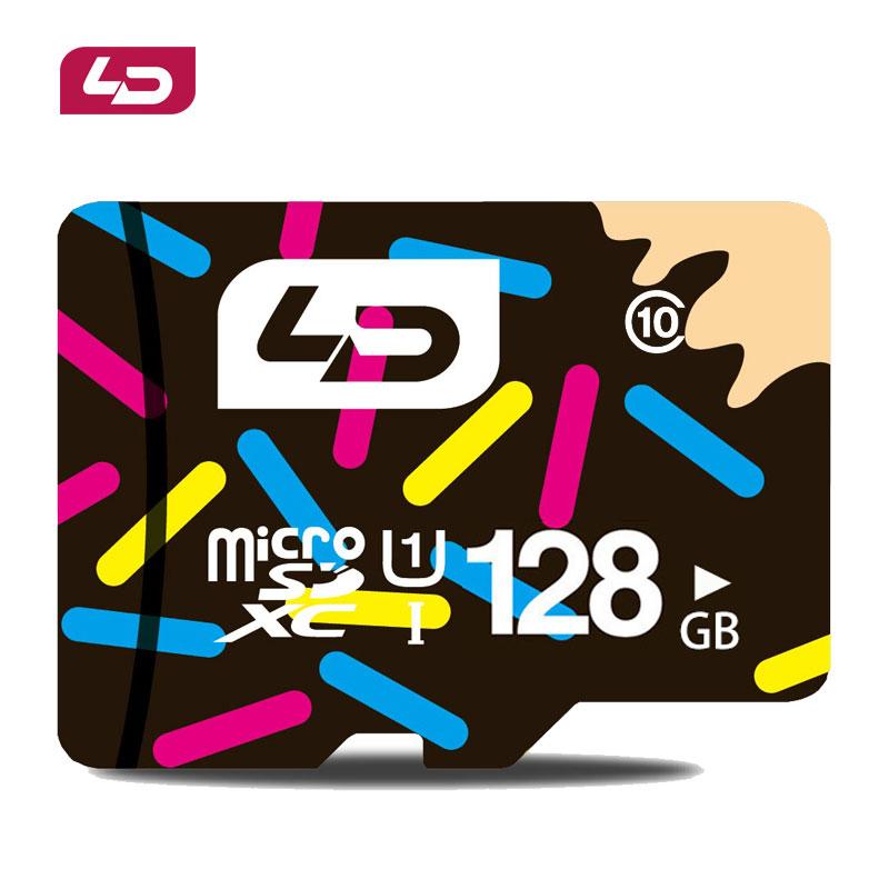 Prix pour LD Carte Micro Sd Carte Mémoire Microsd Mini Sd 128 GB Classe 10 SDXC UHS-1 Carte Microsd