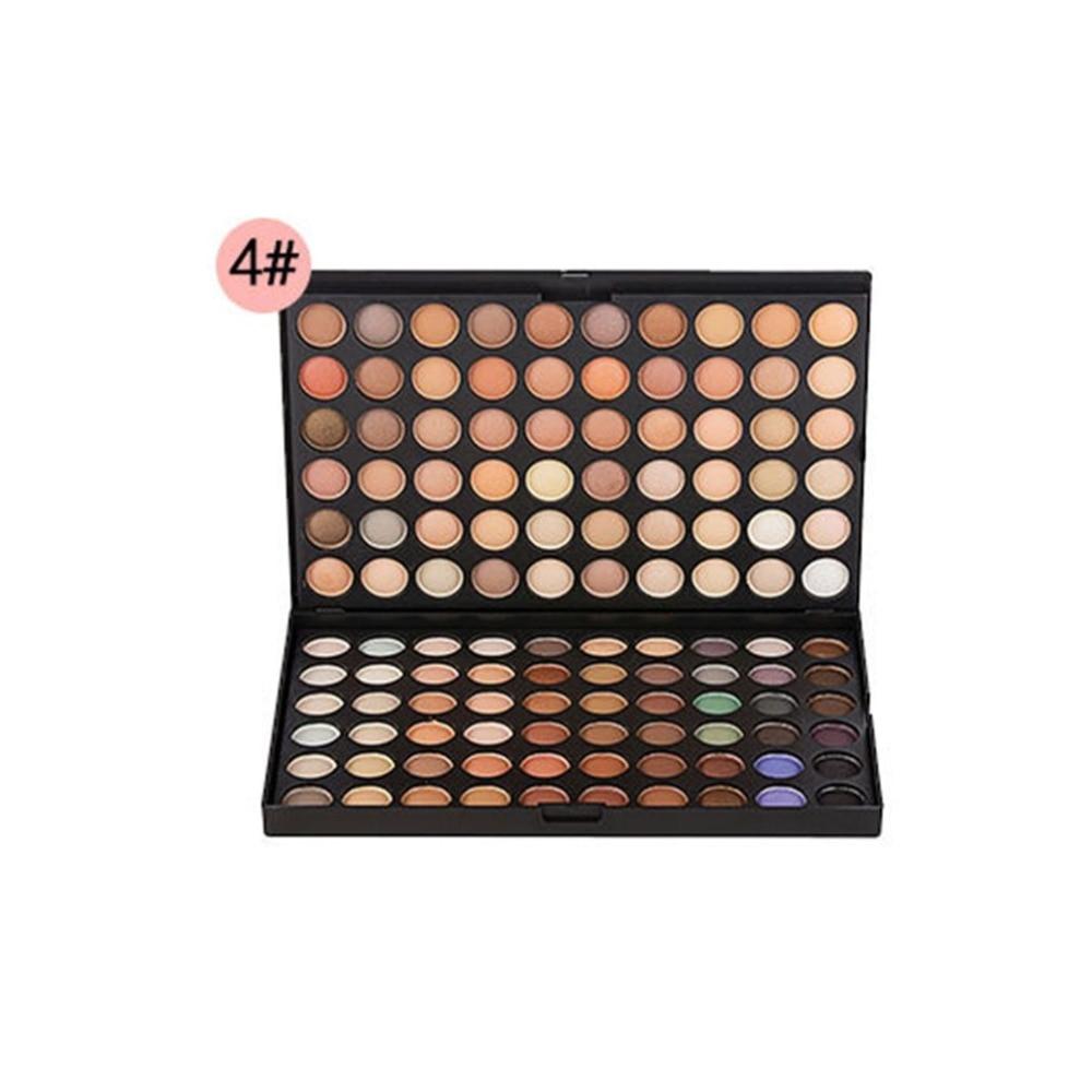 120 Colors Eyeshadow Palette Makeup Waterproof Smoky Pearl Matte Shimmer Eye Shadow Sets Professional Eyeshadow Glitter Luxury in Eye Shadow from Beauty Health