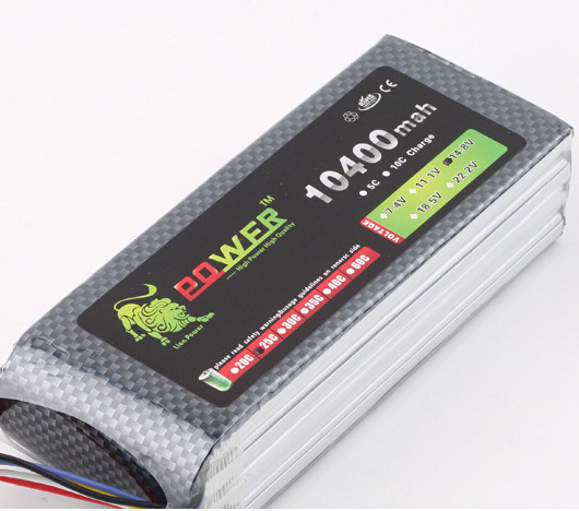 free shipping high capacity 14.8v 10400mah Lipo battery Li-poly Lithium-Polymer Power 4S 25c Akku bateria for rc car heli model new 3 7v12ah new high capacity lithium polymer battery 12000mah three yuan lithium electric car batteries