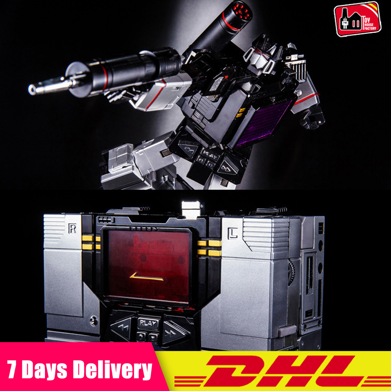 DHL G1 Transformation THF 01B Black One Tape walkman MP13 Oversize Alloy KO Action Figure Robot Collection Toy thf 51 thf 51s