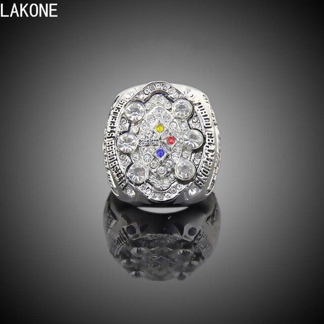 Lakone Championship Ring Pittsburgh Steelers 2008 Super Bowl