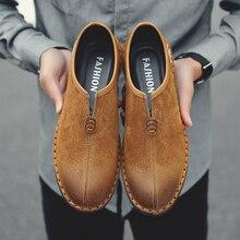 c3984e5316 Calçados Casuais dos homens de primavera Tendência do Estilo Chinês Retro  Sapatos Maré Peas Selvagens Sapatos