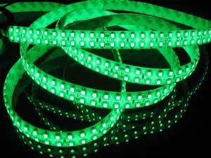 משלוח חינם מקורה 24V צבע ירוק 5 מ 'סליל - תאורת לד