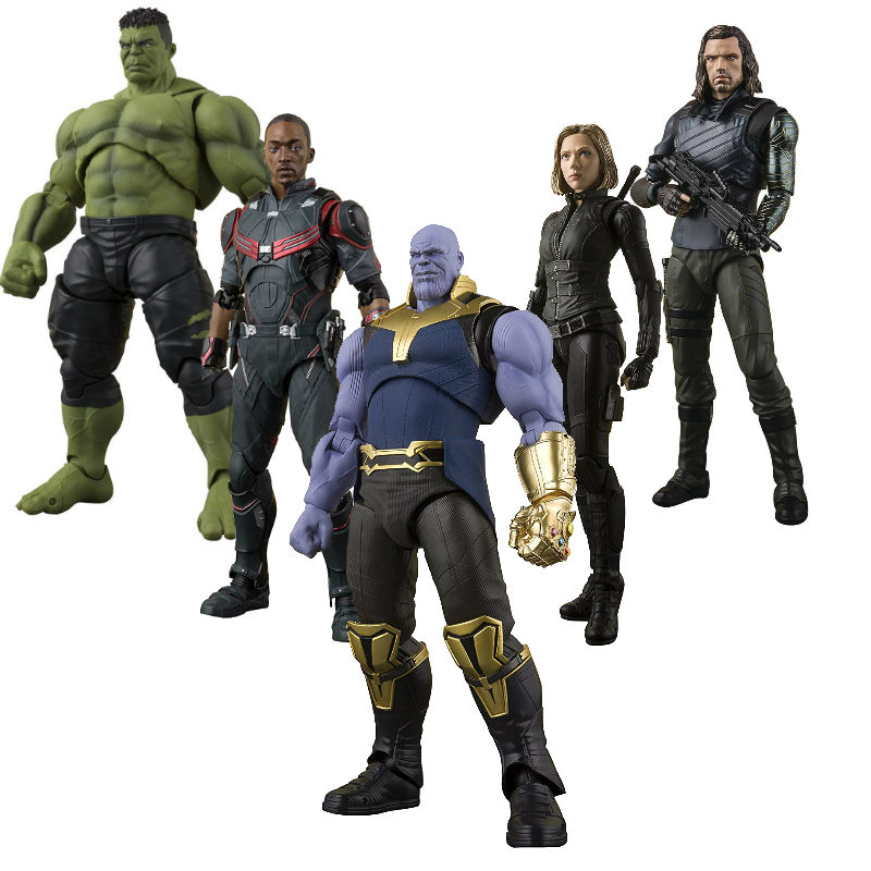 S.H.Figuarts Avengers infinity War Thanos Black Panther
