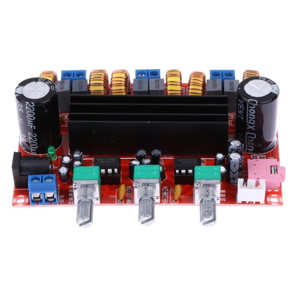 TPA3116D2 Qualité Sonore Amplificateur de Puissance Conseil 50 W * 2 + 100 W 2.1 Canal Numérique Subwoofer Amplificateur de Puissance Conseil DC12V-24V