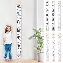 Детский подвесной график роста детей, стикер на стену, правило роста стола, стикер на стену, Декор, измерение роста, линейка для детей, рост
