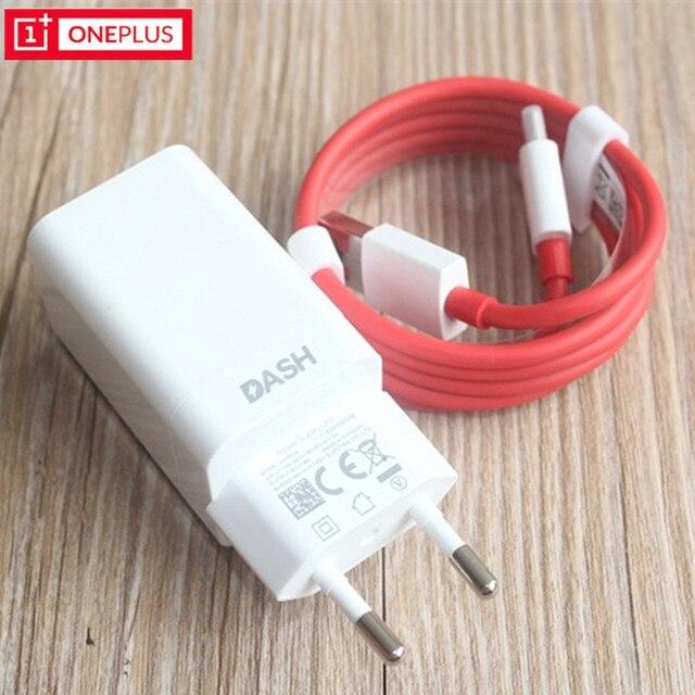 Original Oneplus 3 3t 5 5t 6 Dash Eu Charger Adapter 5v 4a 1 Dash