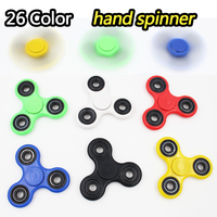 Fidget Spinner Finger ABS EDC Hand Spinner Tri For Kids Autism ADHD 26 Styles Anxiety Stress