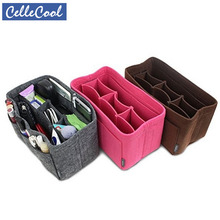 CelleCool Multi-functional Cosmetic Bags Felt Cloth Insert B