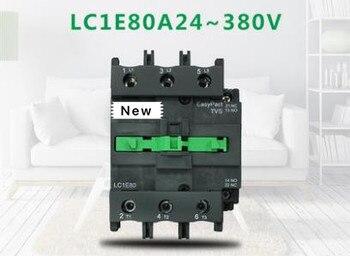 100%New Original In box   1 year warranty   LC1E80M5N  LC1-E80M5N AC220V
