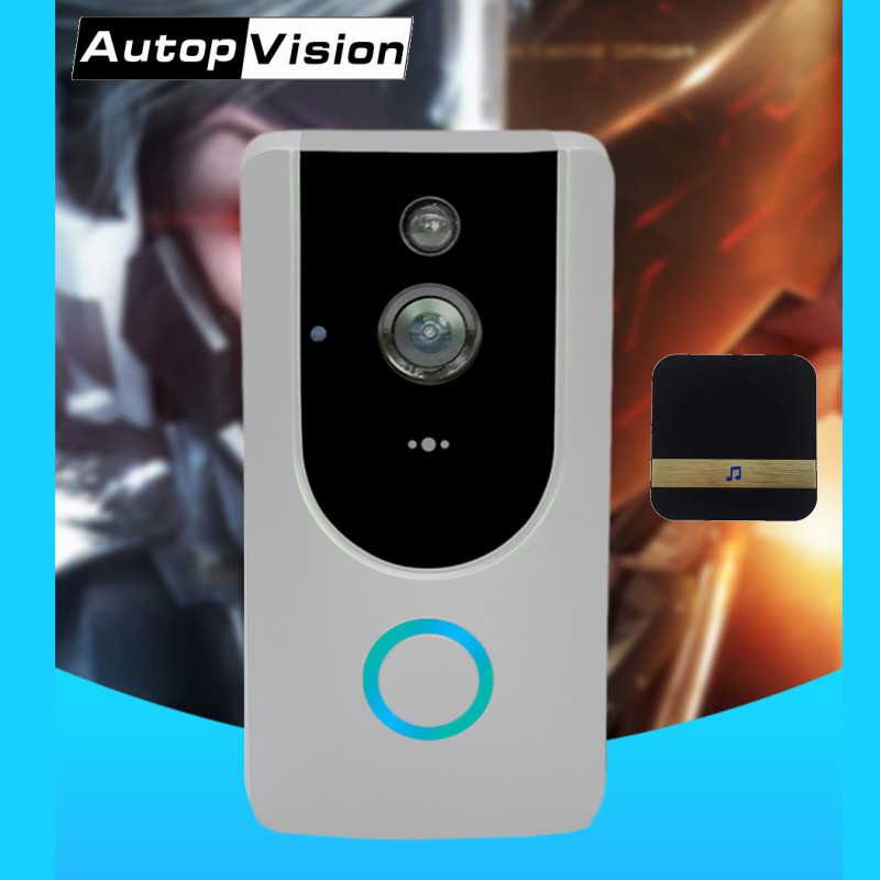 цена на M2 Wide angle Doorbell Camera 2.4G WIFI Video Door Phone wireless Visual Intercom Doorbell with Motion Detection IR Night Vision