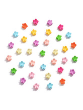 10pcs/Lot Girls Cute Small Plum Blossom Hair Claws Children Lovely Clips Hairpins Headbands Kids Fashion Accessories
