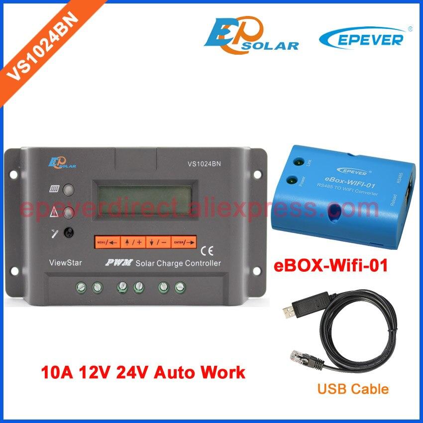 VS1024BN EPEVER EPSolar 10A 24 V cavo USB e wifi BOX per la comunicazione funzione solare pwm 12 V 10a MT50 MetroVS1024BN EPEVER EPSolar 10A 24 V cavo USB e wifi BOX per la comunicazione funzione solare pwm 12 V 10a MT50 Metro