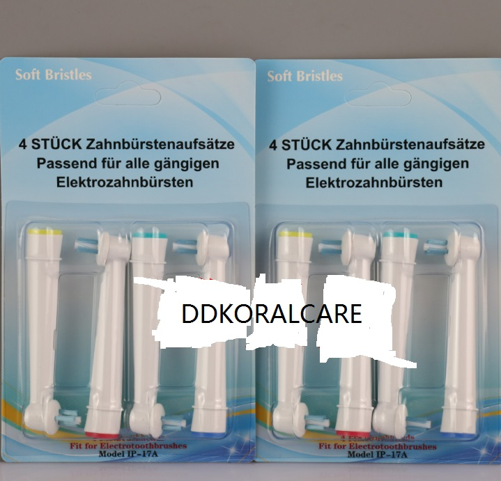 12 шт. = 3 пакеты ip-17a Замена для Braun Oral B Головки для зубных щёток начинаются с с ...