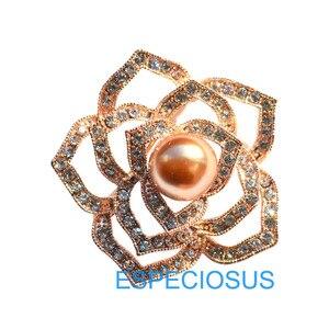 Элегантная Брошь-булавка со стразами, золотистого цвета, с кристаллами, с изображением жирафа, для груди, жемчужная булавка, женский подарок...