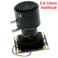 Free Shipping 5Pieces 960p AR0130 1 3 CMOS Free Driver 2 8 12mm Varifocal Lens Cctv