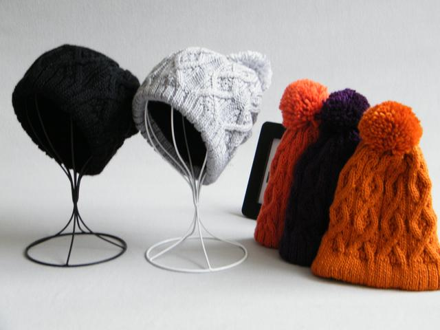 Warm winter new fashion Korean wool cap knitted hat solid parent-child