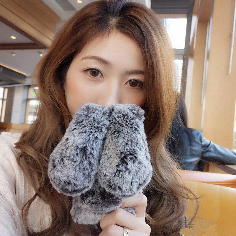 Cute Rabbit Ears Phone case For Iphone 6 6s plus 7 7 plus Soft Plush Diamond Cover Fluffy Hair back Capa Fundas Rabbit Cases()