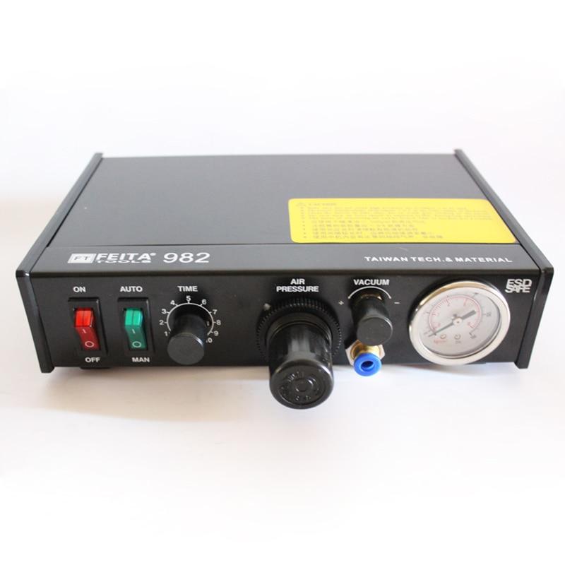 цена на Free ship FEITA-982 manual dispenser, dual-mode foot 982 ds-982 semi-automatic dispenser dispenser