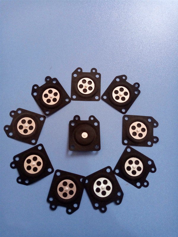 5/10Pcs Carburetor Parts Chainsaw Carburetor Membrane Pads For Zama Chainsaw Carburetor 2500/3800/4500/5200/5800 Accessories