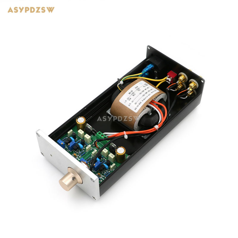 Finished HIFI Audio JC-2 V2 Preamplifier Mini Class A FET JC-2.2 Preamp finished hifi advanced relay volume controller balanced preamplifier passive preamp