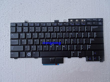 For DELL Latitude E6400 E6500 E6410 E6510 M2400 M4400 laptop keyboard US version NO backlit without backlight