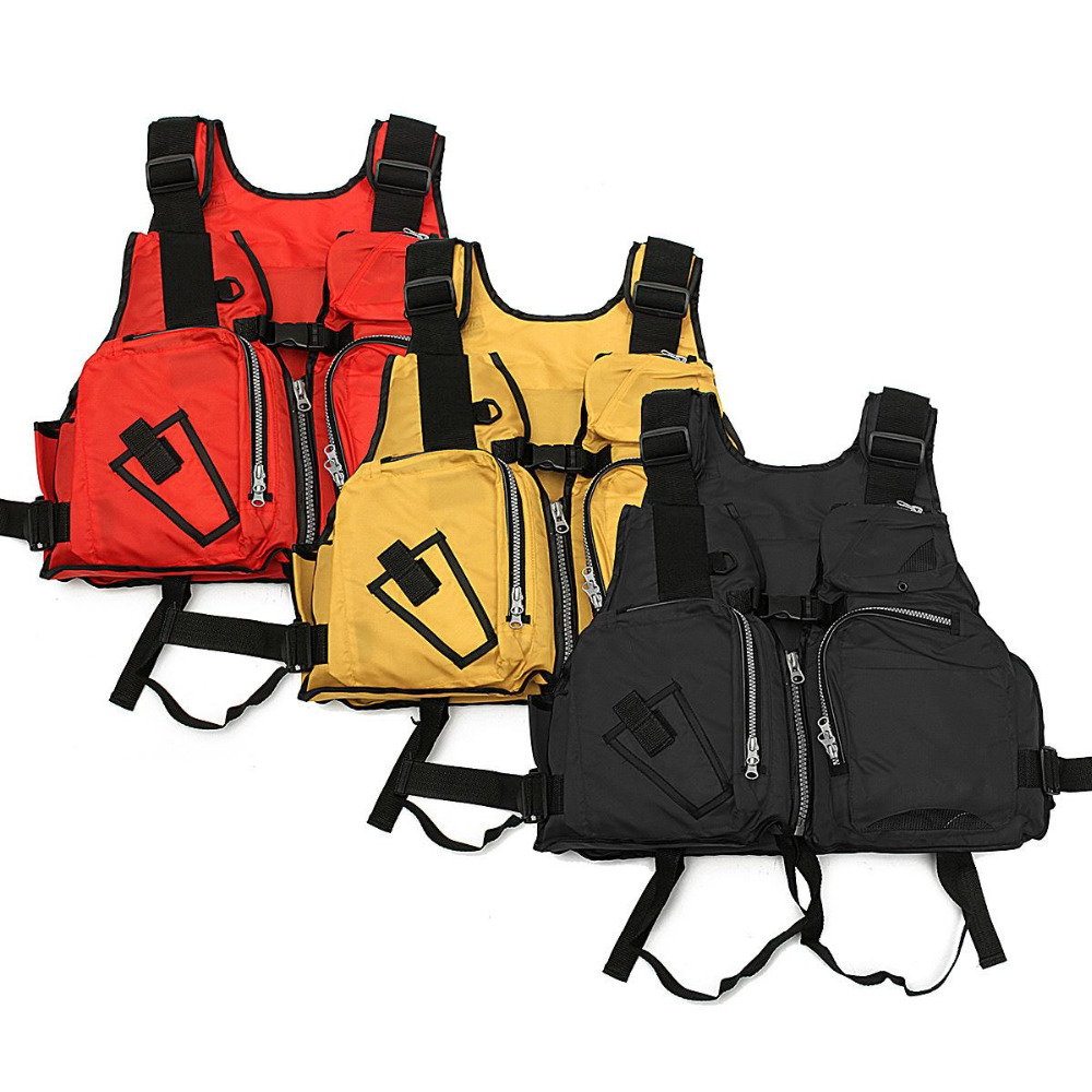 Nylon Adult Aid Sailing Swimming Fishing Boating Kayak Life Jacket Vest Safety Clothing Drop Shipping