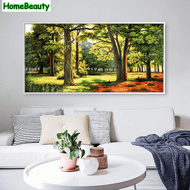 Rumah Kecantikan 50 100 Diy Gambar Dengan Angka Modular Minyak