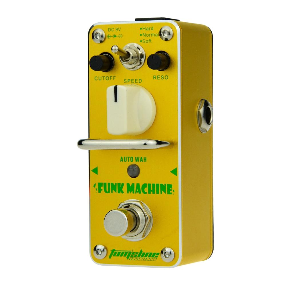 Aroma Funk Machine Auto Wah Pedal Mini Analogue Guitar Effect AFK-3 Truebypass Cutoff Control Normal Mode Reso Control Soft Mode палатка normal виктория 3