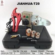 1 компл. Сантехник инструменты 20-32 мм Температура контролируется сварочная пластмассовая Машина PPR трубы сварщик