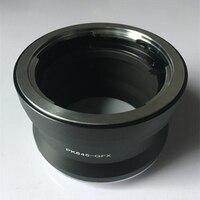 PK645-GFX Adapter zdjęć Pentax 645 obiektywu  aby Fujifilm GFX średniego formatu kamery