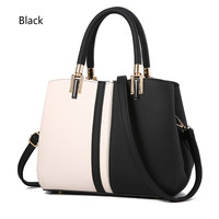 Hiqh Quality Women Bag PU Leather Women S Handbags Top Handle Fashion Patchwork Women Shoulder Handbags