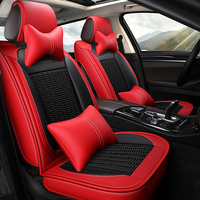Ice silk car seat cover for Mercedes Benz Smart fortwo Smart car accessories 3D car seat protector