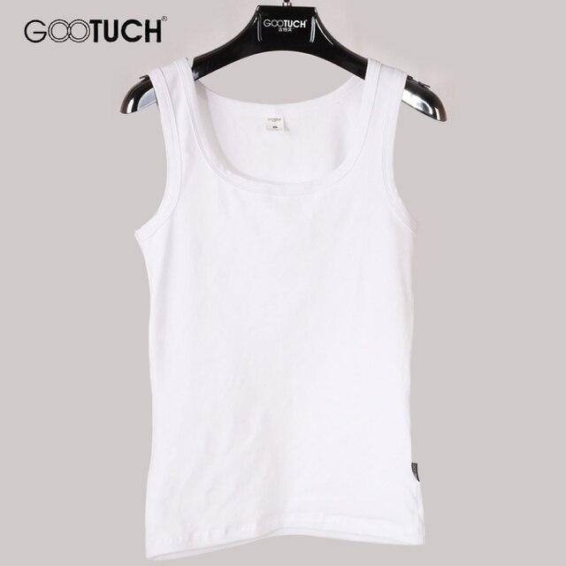 Womens Cotton Tank Tops Singlet Slim Bodyshaping U Neck Vest Plain White Plus Size Cotton Underwear Women 5XL 6XL Tanks 049 5