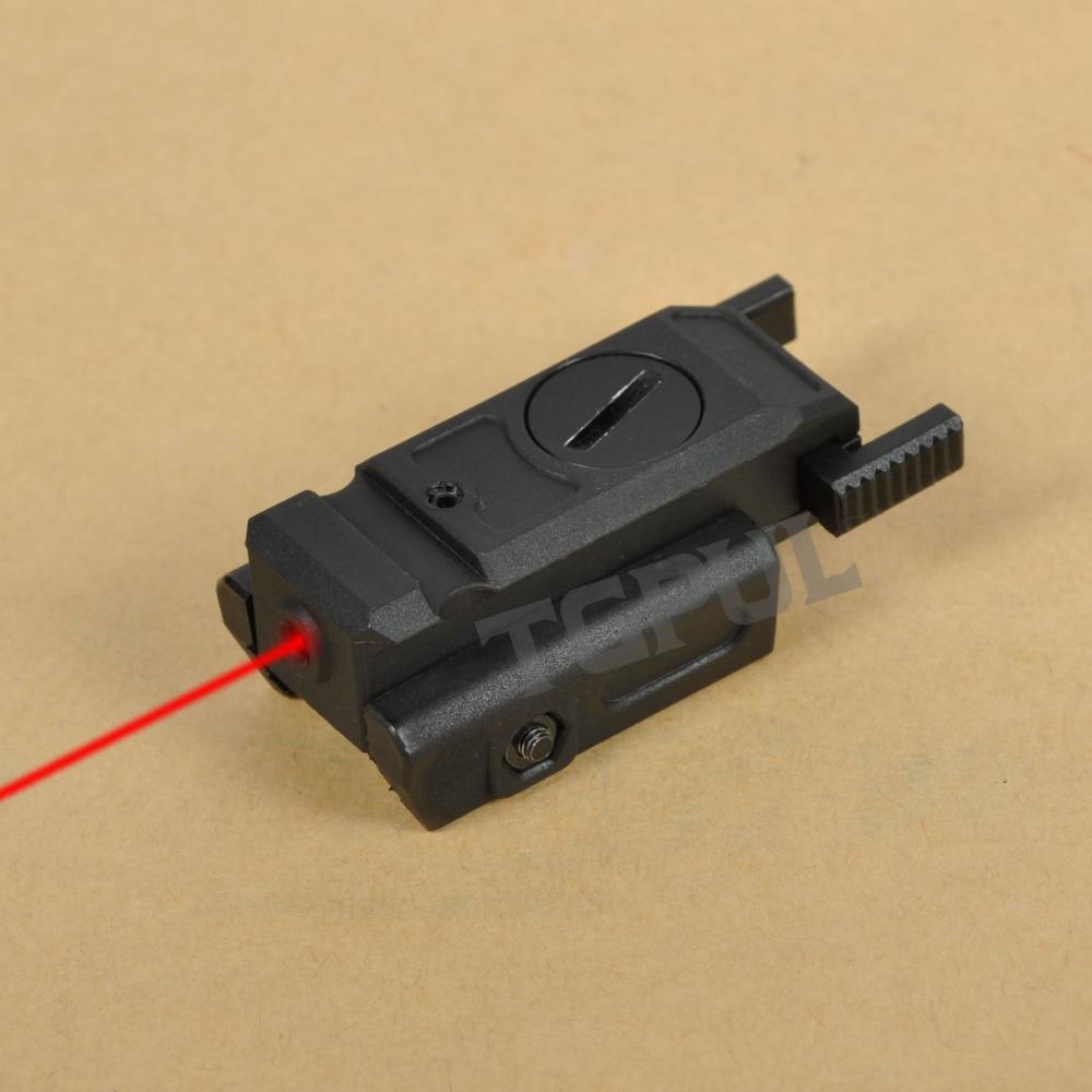 TGPUL Red Dot Laser Sight Tactical Airsoft Handgun Flashlight Combo LED Tactical Gun Torch for 20mm Rail Glock 17 19 18C 24 P226-5