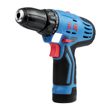 Lithium battery charging drill 12V electric screwdriver hand tool DCJZ10-10E