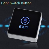New Arrival Generic DC 12V NC NO Release Button Switch Square Touch Sensor Door Exit With